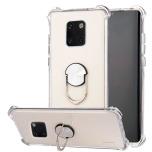 Huawei Mate 20 Pro - Praktiskt Stilrent Skal med Ringhållare