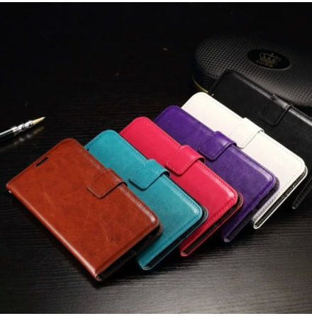 Samsung Galaxy S7 - Stilrent Plånboksfodral av LEMAN