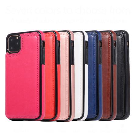 iPhone 11 - Praktiskt Stilrent Nkobee Skal med Kortfack