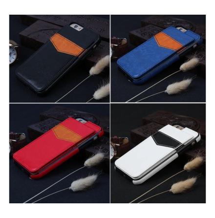 iPhone 6/6S - Stilrent skal med Plånbok/Kortfack