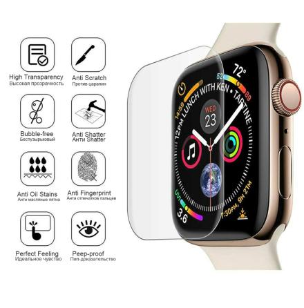 Mjukt Skärmskydd PET Apple Watch Series 5/4 40/44mm