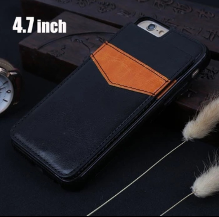 Artikelbild  iPhone 6 6S - Stilrent skal med Plånbok Kortfack 6ac8aab6287ac