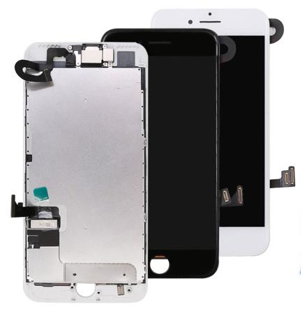 iPhone 7 Plus komplett LCD skärm med smådelar OEM