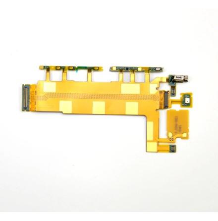 Sony Xperia Z3 -Avknapp-, Volym-, Mic- flexkabel