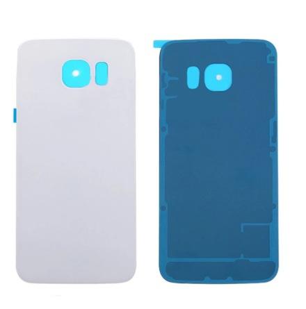 Samsung Galaxy S6 Edge - ORIGINAL-Batterilucka (Baksida) VIT