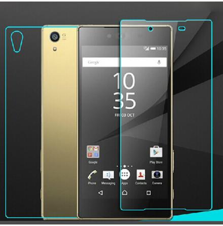 Sony Xperia Z5 Skärmskydd - (Både framsida och baksida ingår)
