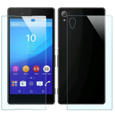 Sony Xperia Z3+/Z4 - Skärmskydd (Både framsida och baksida ingår)