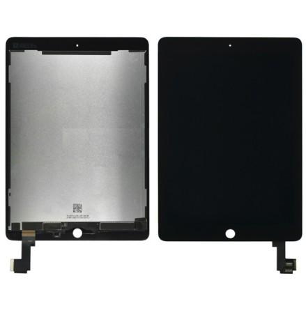 iPad Air 2 - Skärm/Display med LCD (SVART)