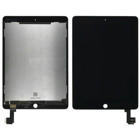 iPad Air 2 - Skärm/Display med LCD (SVART)