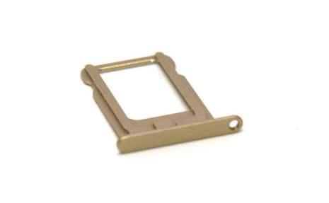 iPhone 5/5S - SIM-korthållare GULD
