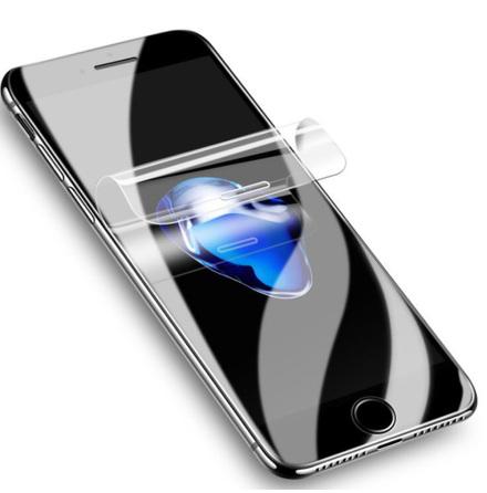 iPhone 8 Plus Skärmskydd 9H Nano-Soft Screen-Fit HD-Clear