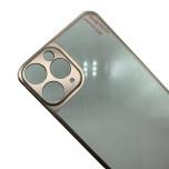iPh 11 Pro Skärmskydd Baksida Aluminium + Titanlegerings metall