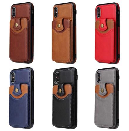 iPhone XR - Professionellt Skyddsskal med Kortfack