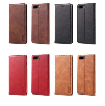 iPhone 8 Plus - Praktiskt Stilrent Plånboksfodral