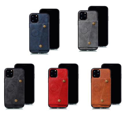 iPhone 11 Pro - Praktiskt RETRO Skal med Kortfack