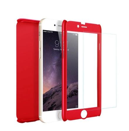 Praktiskt Skyddsfodral för iPhone 7 (Fram och bak) bd39b44c4a6bb