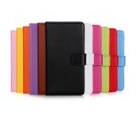 iPhone 5/5S/SE LEMAN Plånboksfodral i Läder