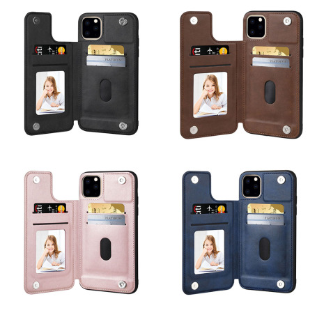 iPhone 11 Pro - Exklusivt HANMAN Skal med Kortfack