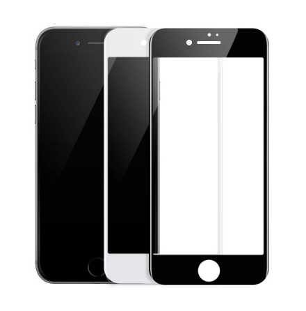 iPhone 6/6S Skärmskydd 2.5D Ram 9H HD-Clear Screen-Fit