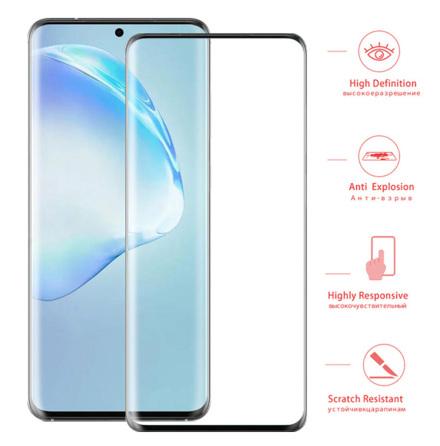 Samsung Galaxy S20 Ultra Skärmskydd FULL-GLUE 9H 0,2mm HD-Clear