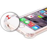 iPhone 6/6S - Skyddande Floveme Silikonskal