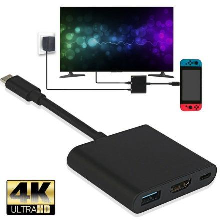 USB 3.1 Converter Type-C To USB 3.0/HDMI/TypeC Female Adapter