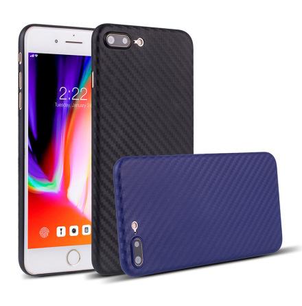 Tunt och smidigt Skal i Carbonmodell till iPhone SE 2020
