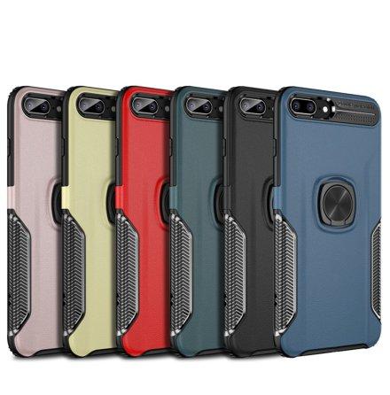 Praktiskt Leman Skal med Ringhållare - iPhone SE 2020