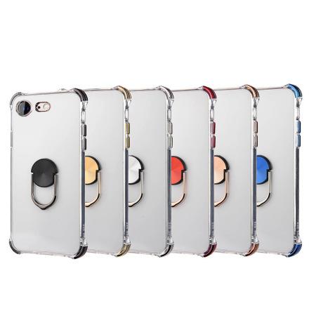 iPhone SE 2020 - Praktiskt Skyddsskal med Ringhållare