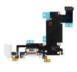 iPhone 6S Plus - Laddkontakt och hörlursuttag (VIT)