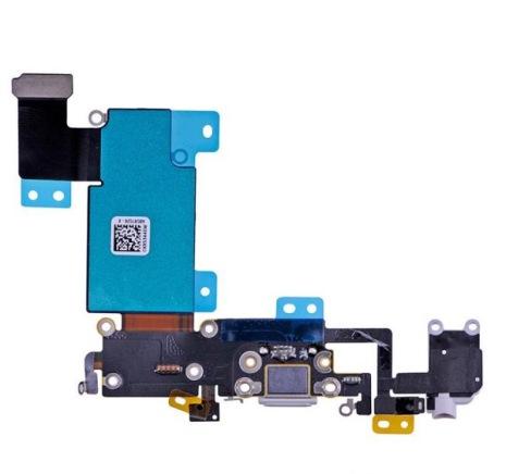 iPhone 6S Plus - Laddkontakt och hörlursuttag (GRÅ)