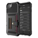 iPhone 6/6S - Effektfullt Elegant Skal med Kortfack