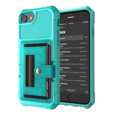 Stilrent Skal med Kortfack - iPhone SE 2020