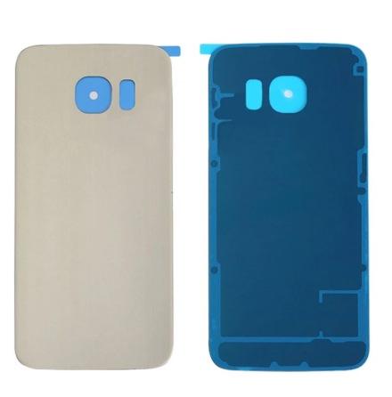 Samsung Galaxy S6 - Baksida batterilucka (OEM-Original) GULD