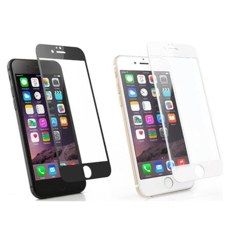 iPhone 6/6S Plus 2.5D Skärmskydd Ram 9H 0,3mm
