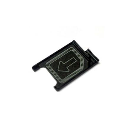 Sony Xperia Z3/ Z3 Compact/ Z5 Compact - SIM-kortshållare (SVART)