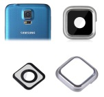 Samsung Galaxy S5 - Kameralins Silver/Guld