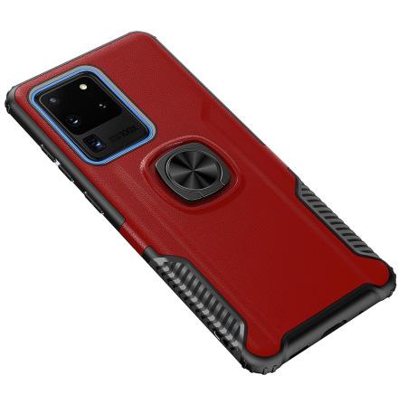 Samsung Galaxy S20 Ultra - Professionellt Skal med Ringhållare