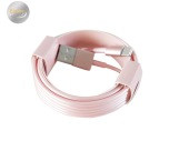 USB-laddkabel BLANOU (Lightning) iPhone IOS9 (VIT/ROSA) 300CM