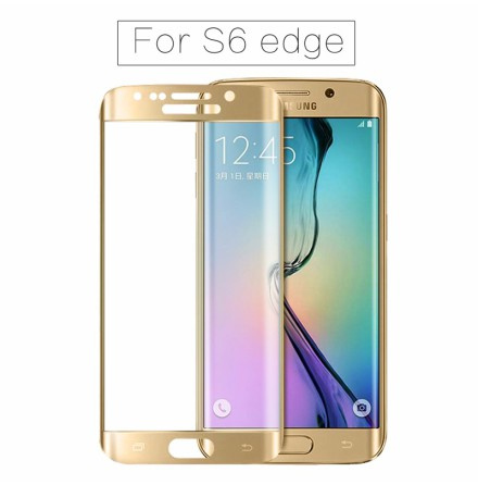 Samsung Galaxy S6 Edge - ProGuard EXXO-Pansarglas 3D (HD-Clear)