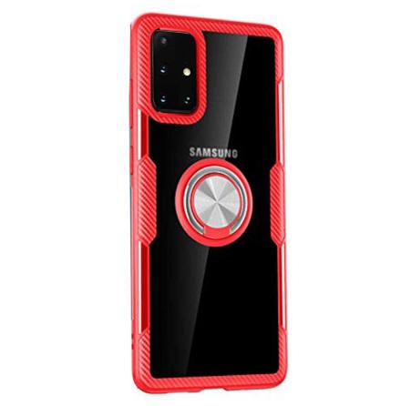 Samsung Galaxy A51 - Stilsäkert Leman Skal med Ringhållare