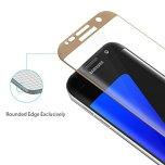 Samsung S7 Edge - ProGuard EXXO-Skärmskydd 3D (HD-Clear) Curved
