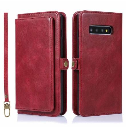 Samsung Galaxy S10 - Kraftfullt Smart Plånboksfodral