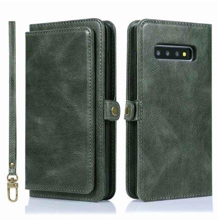 Samsung Galaxy S10 Plus - Smart Effektfullt Plånboksfodral