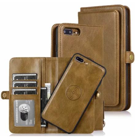 iPhone 7 Plus - Praktiskt Smart Plånboksfodral