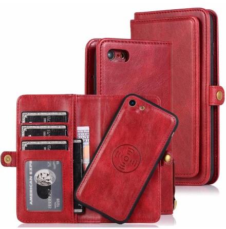 Professionellt Dubbelt Plånboksfodral - iPhone SE 2020