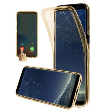 Samsung Galaxy A41 - Skyddande Dubbelsidigt Silikonskal NORTH