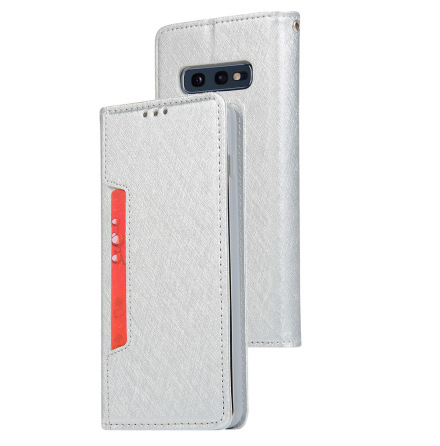 Samsung Galaxy S10E - Praktiskt Floveme Plånboksfodral