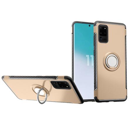 Samsung Galaxy S20 Ultra - Praktiskt Skal med Ringhållare