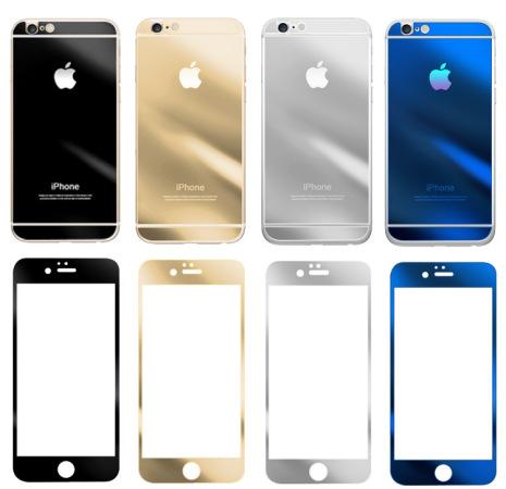 iPhone 5/S/C/SE - PANSARGLAS med Effektfull Spegelfunktion CLEAR